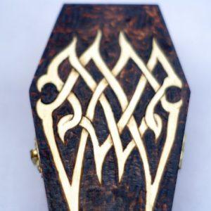 Black Sun Arts Vampire Coffin Box
