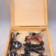 BlackSunArts Tri-Spiral Knot Cigar Box